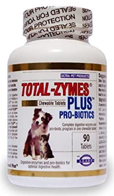 Ultra-pet Total-zymes Plus Tablets - 90 Count by International Veterinary Sciences