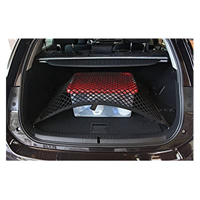 pegasuss custom fit high elastic floor style rear trunk storage luggage net for mercedes ml. Black Bedroom Furniture Sets. Home Design Ideas