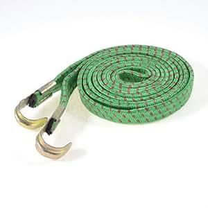 Equipaje cuerda roja verde para bicicleta de la bici - - Amazon.com