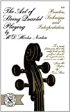 img - for The Art of String Quartet Playing book / textbook / text book