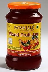 Patanjali Mix Fruit Jam, 500g