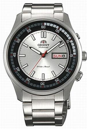 Orient Marshall #EM7E002W Men's Stainless Steel Day/Date 50M Self Winding Automatic Watch