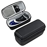 For Philips Norelco Electric shaver PT724/46 3100, S3310/81, PT730/46, 3500, 4500 AT830/46, 4100 AT810/41 Hard EVA Protective Case Carrying Pouch Cover Bag by Hermitshell