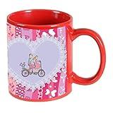 Printland Be My Ride Valentine day Red Coffee Mug 350 - ml PMR5042