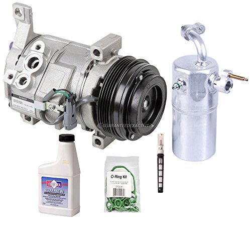 New Genuine Oem Ac Compressor & Clutch + A/C Repair Kit For Cadillac Chevy Gmc - BuyAutoParts 60-83329RN New (2001 Chevy Suburban Ac Compressor compare prices)