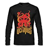 CaiXing Octopus O-Neck Long Sleeve T-shirt For Man