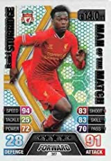 Match Attax 2013/2014 Daniel Sturridge Liverpool 13/14 Man Of The Match