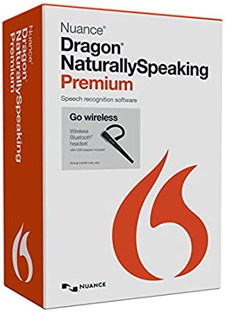 Dragon Naturally Speaking Premium 13.0 - Wireless (PC)