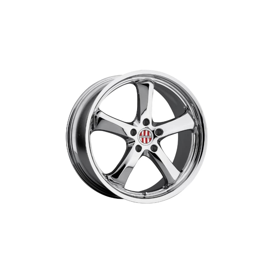 Victor Equipment TURISMO Wheel with Chrome Finish (20x10/5x130mm ,+50mm offset)