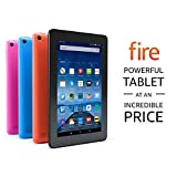 """Fire Tablet, 7"""" Display, Wi-Fi, 8 GB - Includes Special Offers, Black"""