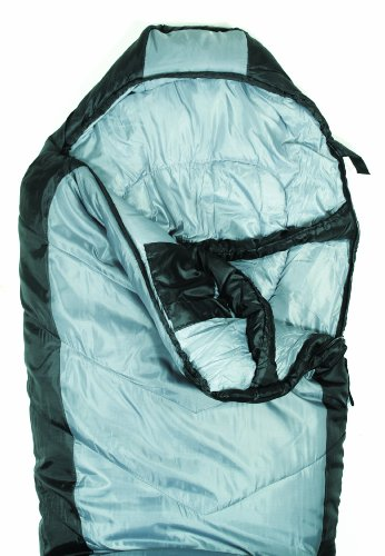 Northstar Sub Zero Minus 15 Triple Layer Mummy Sleeping Bag, Grey/Black
