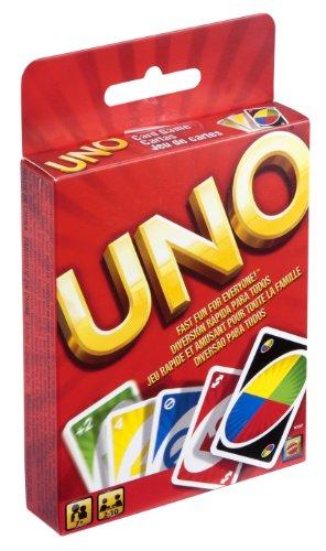Mattel W2087 - Uno, Kartenspiel von Mattel