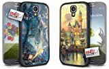 Disney Peter Pan and Disneyland Mickey Mouse Hard Case COMBO TWO PACK for Samsung Galaxy S4