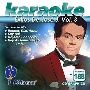 KBO-188 Exitos De Jose Jose Vol 3(Karaoke)