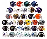 "NFL Football Mini Helmets ""Pencil Toppers"" Capsule Toys Set of 32 Vending"