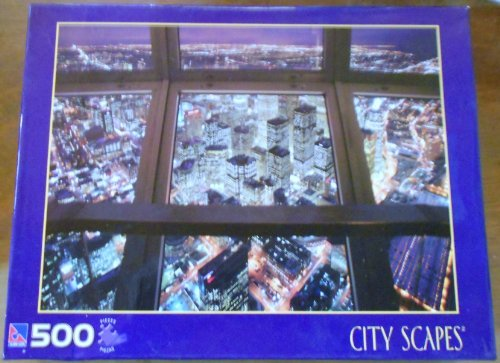 City Scapes - View from CN Tower 500 Piece Jigsaw Puzzle