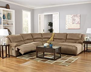 Hogan Mocha Right Corner Chaise Reclining Sectional