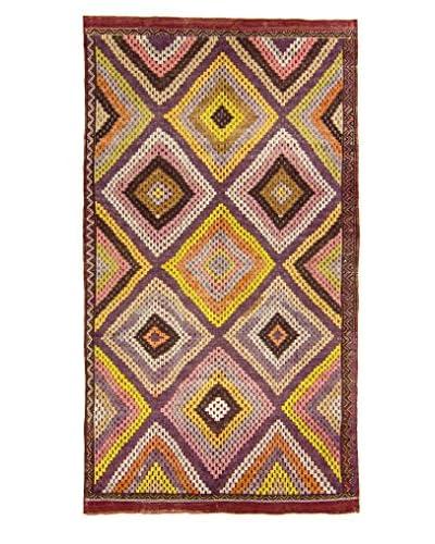 BNomadic C. 1940 Authentic Konya Kilim One-of-a-Kind Rug, Multi, 5′ 10″ x 10′ 10″