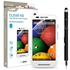 Motorola Moto E Screen Protector Sentey Clear Hd High Definition 0.12mm (Pack of 3) Ls-14301 Bundle with Free Metal Stylus Touch Screen Pen {Lifetime Warranty}