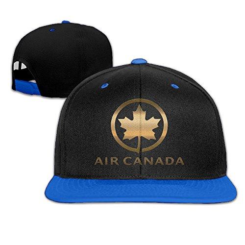air-canada-ac-logo-adjustable-hip-pop-flat-brim-hat-5-colors