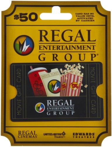 VIDEO Review) Regal Entertainment Gift Card $50 : Best Deals ...