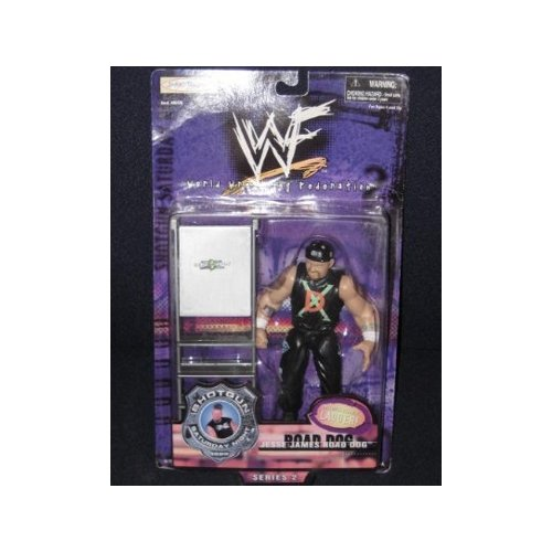 WWF: Shotgun Saturday Night Series 2 Road Dog Jesse James Action Figure