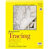 """Strathmore Tracing Paper Pad 11""""X14""""-25Lb 50 Sheets"""
