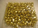 "Bulk Bag of 144 Gold Metal 1/2"" Jingle Bells"