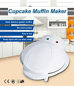 Cupcake Muffin Iron Machine Maker Iron for Delicious Cup Cake for Birthday Party / Xmas