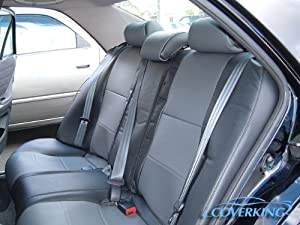03 05 infiniti fx35 coverking leatherette custom fit seat covers front row automotive. Black Bedroom Furniture Sets. Home Design Ideas