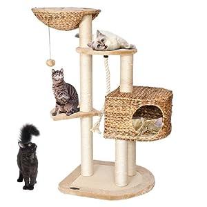 happypet banana leaf 6 arbre chat griffoir grattoir. Black Bedroom Furniture Sets. Home Design Ideas