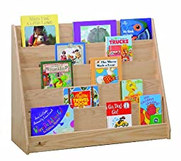 Steffy Wood Products Oak Book Display Unit