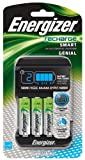Energizer CHP4WB4 Recharge Smart AA/AAA Charger with 4 AA NiMH Batteries