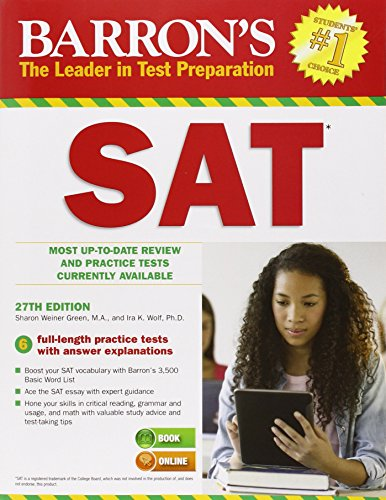 Sat (Barron's Sat (Book Only))
