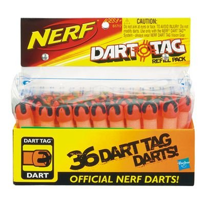 Nerf Dart Tag 36 Pack Darts