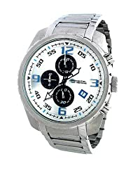 Fossil Analogue white Dial Men Watch - (CH2506)
