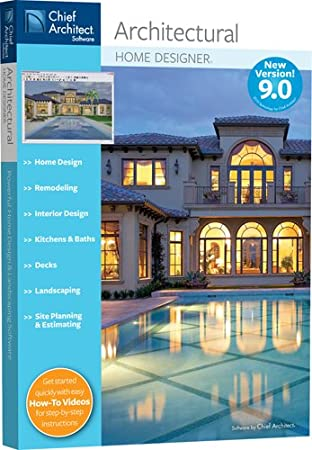 Chief Architect Architectural Home Designer 9.0