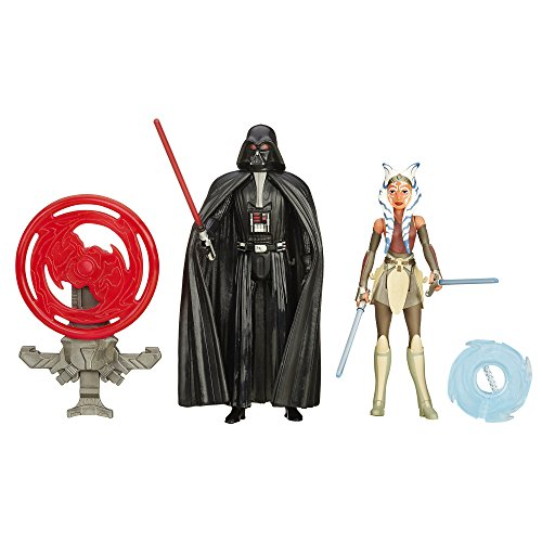 Star Wars Rebels 3.75-Inch Figure 2-Pack Space Mission Darth Vader and Ahsoka Tano