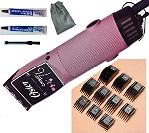 Combo Limited Edition Susan g. Komen for the Cure (Breast Cancer Edition) Oster Classic 76 Pink With Black 000 Blade Hair Clipper and + 10 piece Universal Comb set All Made In USA With Full Warranty.