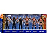 WWE Wrestling Exclusives Superstar Collection Action Figure 6-Pack [Set #4]
