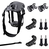 GBB Basic Sport Action Camera Adjustable Dog Harness Mount Chest Strap Sport Camcorder Accessories Kit for Gopro 1 2 3 4 (22 items) [並行輸入品]