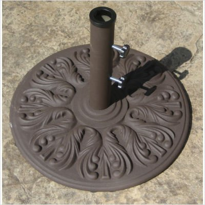 Galtech 040ed 40 lb European Patio Umbrella Stand