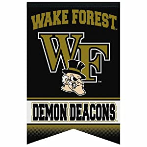 Buy NCAA Wake Forest Demon Deacons Premium Felt Banner 17-by-26 by WinCraft