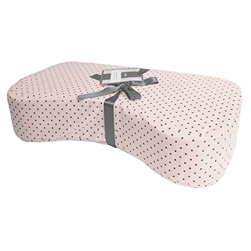 Kushies Nursing Pillow, Pink Polka Dots