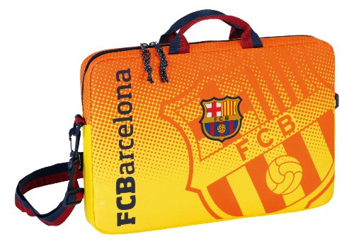 FC Barcelona Laptop Bag (Orange - 15.6in)