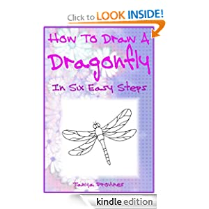 How To Draw A Dragonfly In Six Easy Steps