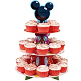 New Wilton Cupcake Stand Clubhouse Mickey Mouse, Disney Party Treat Birthday!! Fast Shipping