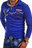 MT Styles Langarm Poloshirt AMBITION T-Shirt R-0682