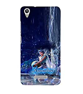 PRINTVISA Zodiac Aquarius Case Cover for Lava Pixel V1