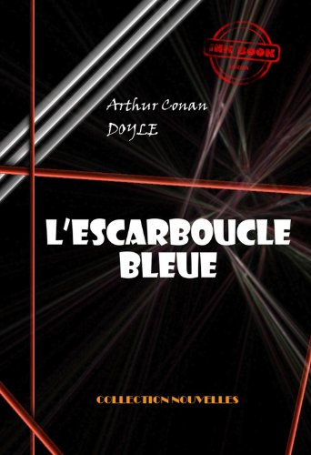 Couverture du livre L'escarboucle bleue (avec illustrations)